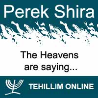 Perek Shira : The Heavens are saying