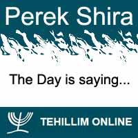 Perek Shira : The Day is saying