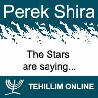 Perek Shira : The Stars are saying