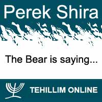 Perek Shira : The Bear is saying