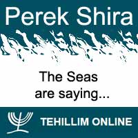 Perek Shira : The Seas are saying